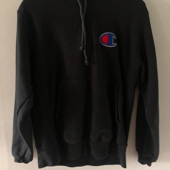 Black Champion Sweater